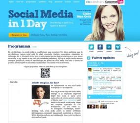 Spreker tijdens Social Media in 1 Day op verzoek van Beeckestijn Business School.